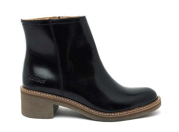Kickers boots bottine talons oxymora noir