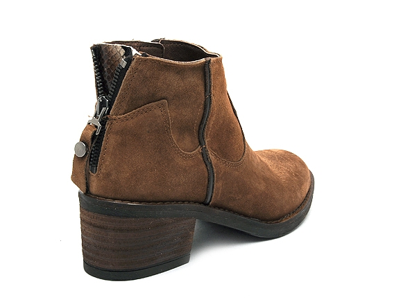 Alpe boots bottine talons 4392 marron8817001_5