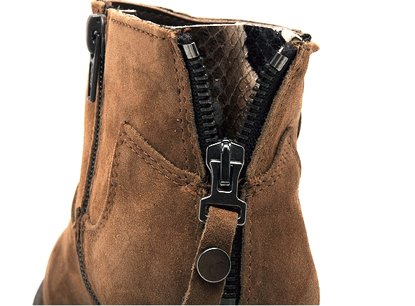 Alpe boots bottine talons 4392 marron8817001_6