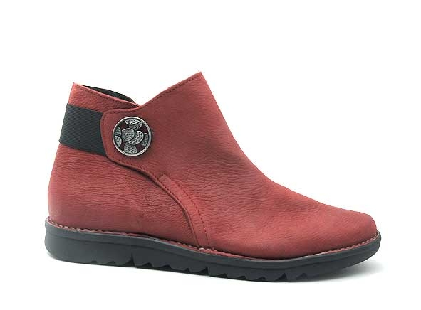 Alce shoes boots bottine plates 9546 rouge
