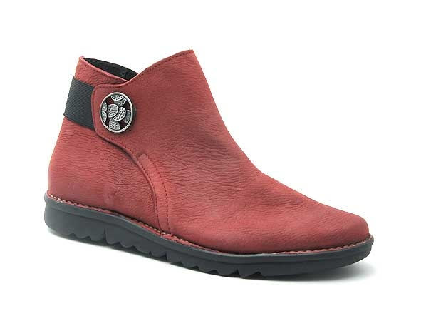 Alce shoes boots bottine plates 9546 rouge8840801_2