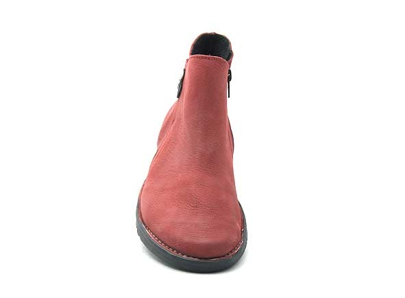 Alce shoes boots bottine plates 9546 rouge8840801_4