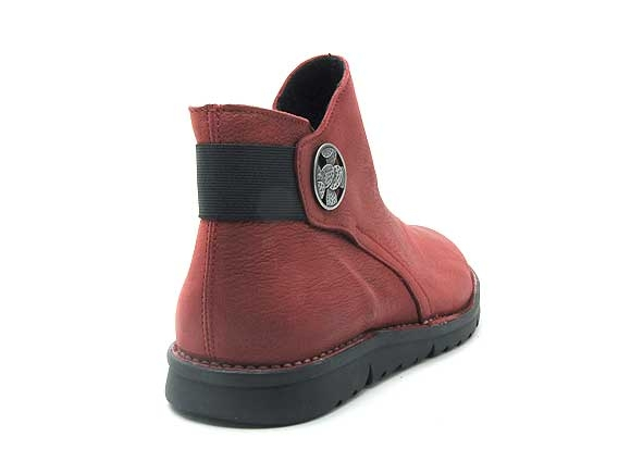 Alce shoes boots bottine plates 9546 rouge8840801_5