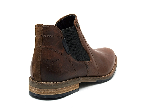 Bullboxer boots bottine 773k45434i marron8909401_5