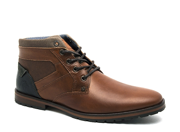 Bullboxer boots bottine 071k56632a marron8909901_2