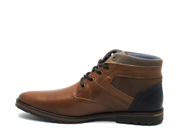 Bullboxer boots bottine 071k56632a marron8909901_3