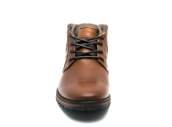 Bullboxer boots bottine 071k56632a marron8909901_4