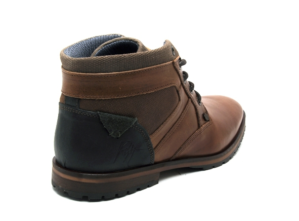 Bullboxer boots bottine 071k56632a marron8909901_5