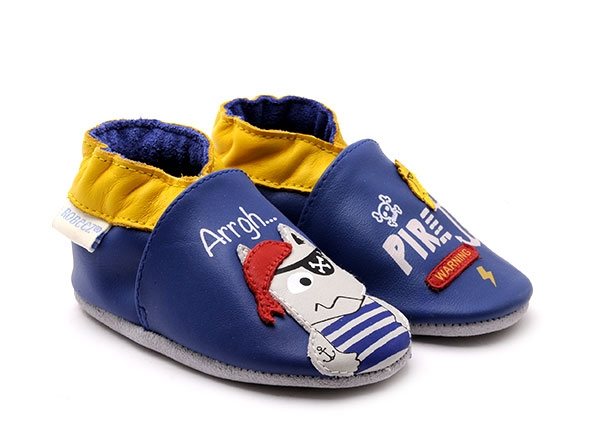 Robeez Pirate Wolf Chaussons Fille