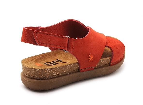 Art nu pieds plats rhodes 1710 orange9019901_5
