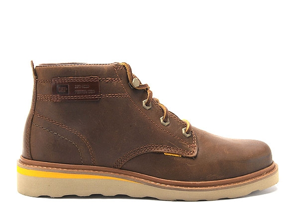 Caterpillar boots bottine jackson mid 1 marron