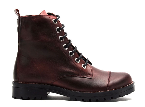 Chacal boots bottine plates 5265 bordeaux