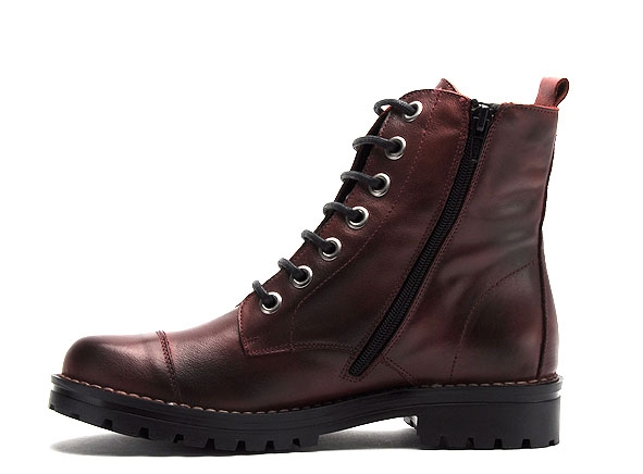 Chacal boots bottine plates 5265 bordeaux9229002_3