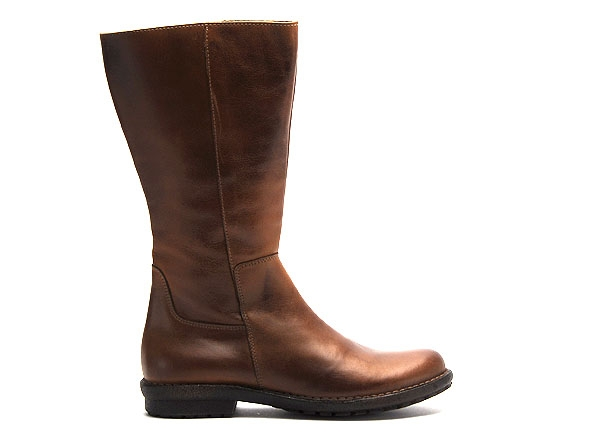 Chacal bottes plates 4018 h19 marron