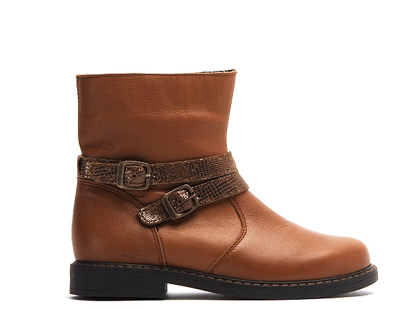 Bopy boots bottine safrica marron