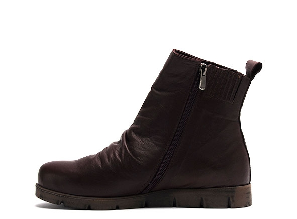Andrea conti boots bottine plates 0340077 bordeaux9306802_3