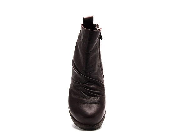 Andrea conti boots bottine plates 0340077 bordeaux9306802_4