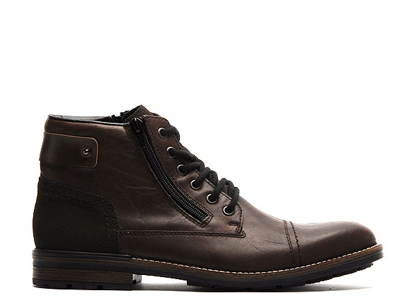 Rieker boots bottine f1340 marron