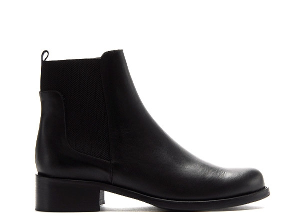 Myma boots bottine plates 4210my00 noir